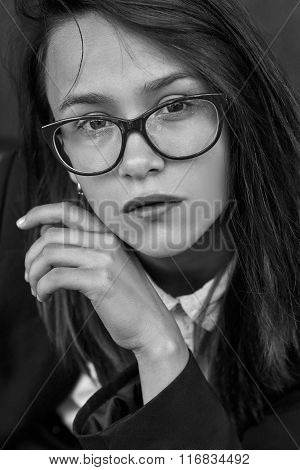 Girl In Eyeglasses