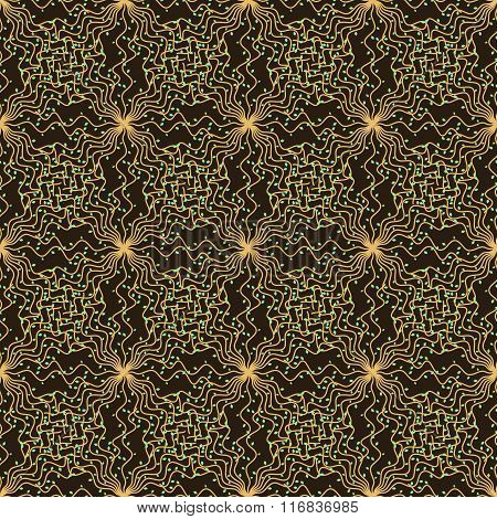 Background Pattern Of Vines