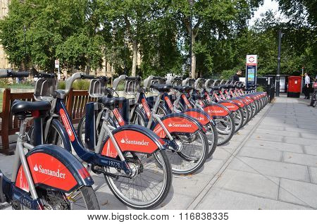 Bike Rental Station In London