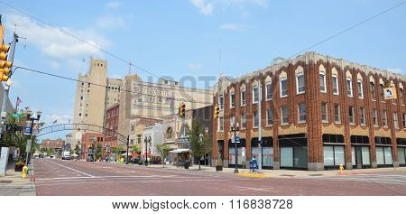 Downtown Flint, Mi