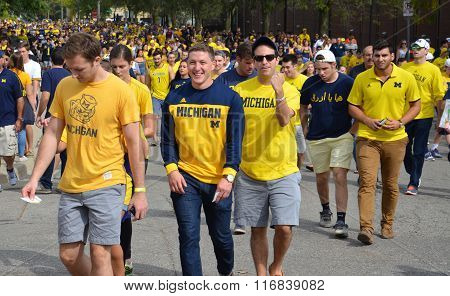 Michigan Football Fans