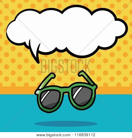 Sunglasses Color Doodle