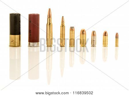 Different calibers