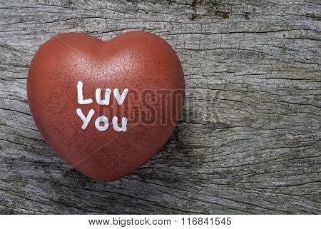 Grungy Rubber Heart