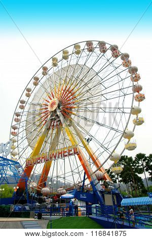 The Colorful Ferris Wheel