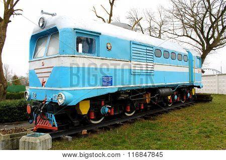 Old locomotive in Brest