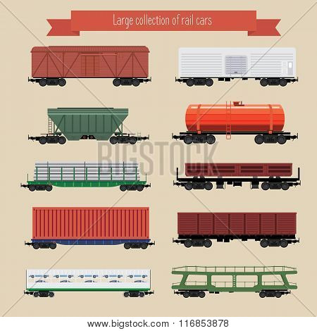 Rail Freight Wagons