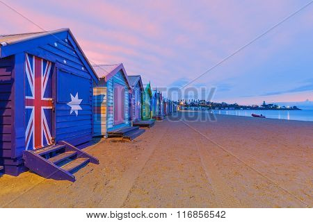 Beautiful Brighton Bathing Houses, Australia