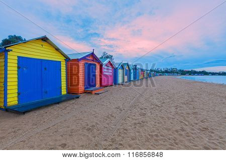 Brighton Bathing Houses, Australia