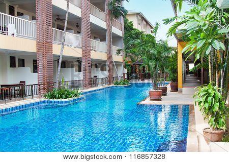 Thai Hotel Pool View