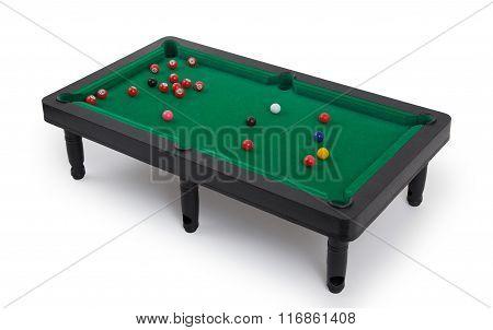 Miniature Billiard Table