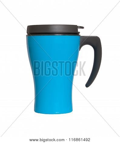 Thermocup Blue Isolated