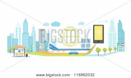 Smart Technology in Infrastructure of City