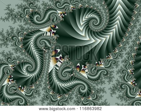 Fabulous Background With Spiral Pattern. You Can Use It For Invitations, Notebook Covers,