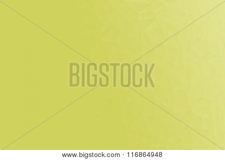 Yellow Polygon Pattern For Background Or Web Banner Design.