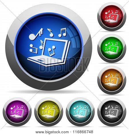 Multimedia Button Set