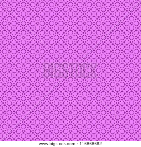 seamless circles design on a purple background