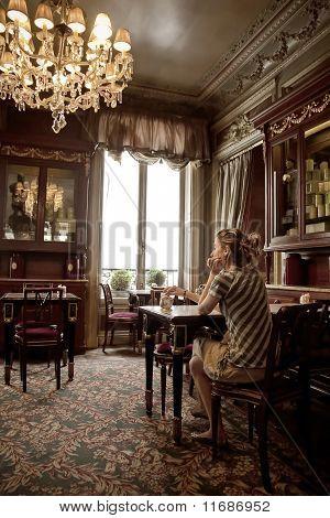 Rest in an elegant saloon
