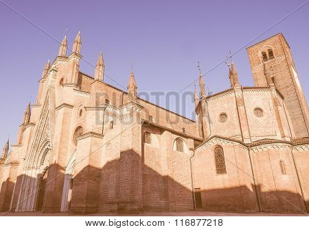 Chieri Cathedral, Italy Vintage