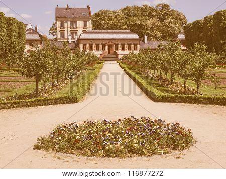 Prince Georg Garden In Darmstadt Vintage