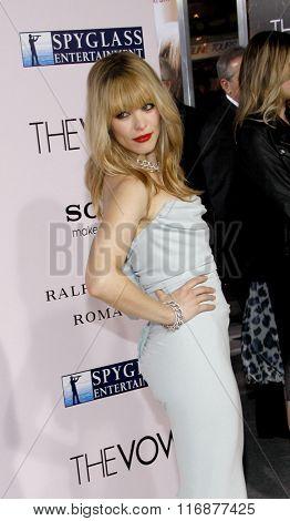 Rachel McAdams at the Los Angles Premiere of