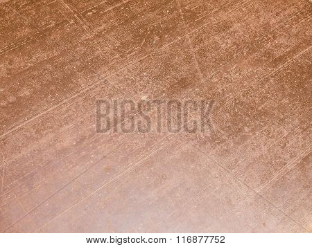 Retro Looking Brown Rusted Steel Background