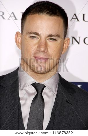 Channing Tatum at the Los Angles Premiere of
