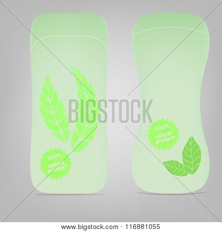 Lotion Packaging Template.