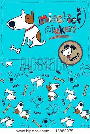 Mischief Maker Puppy Dog Woof