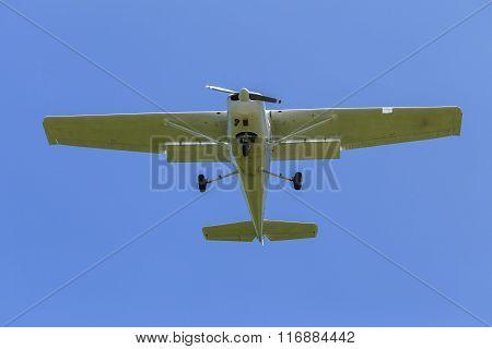 Plane Light Aircraft Flying