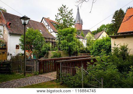 Small European Town Street