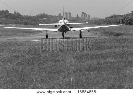 Plane Propeller Runway Vintage