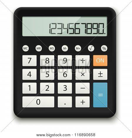 Black Standard Calculator
