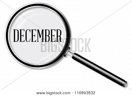 December Magnifying Glass
