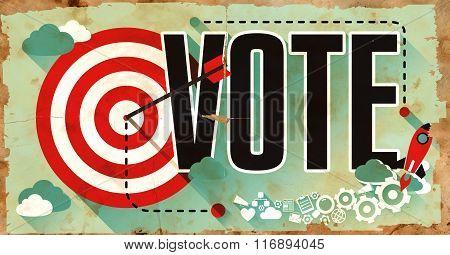 Vote on Old Grunge Poster.
