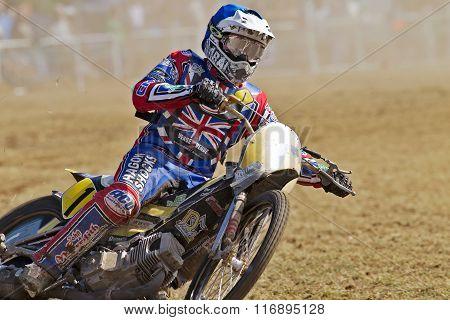 UK grasstrack rider