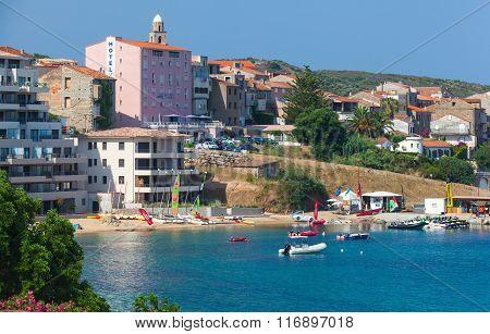 Propriano Resort Town, Corsica Island, France