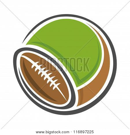 Background image for text on the subject of american football