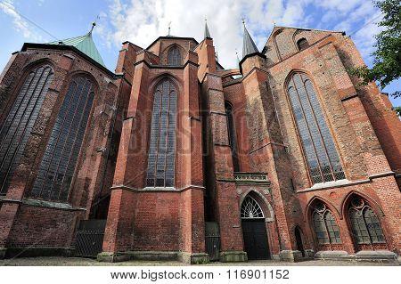 Saint Mary's Church, Lubeck, Germany.