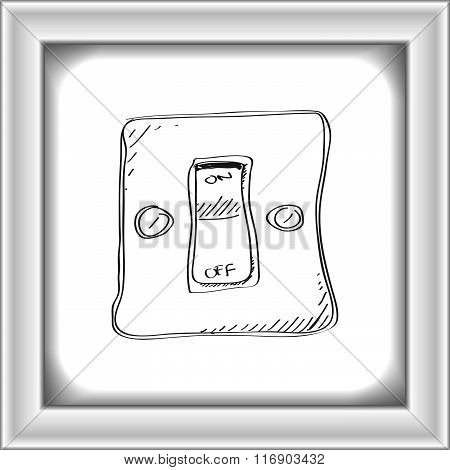 Simple Doodle Of A Switch