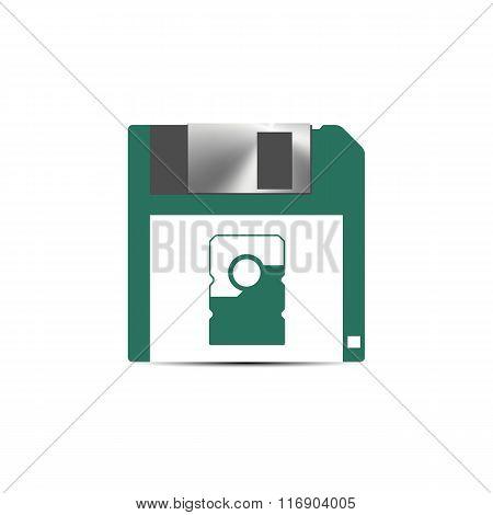 Save Icon, Vector Illustration.