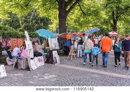 Street Artists From Catherine Gardens.