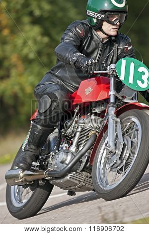 Ducatti cornering