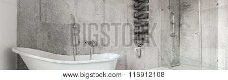 New Style  Spacious Bathroom