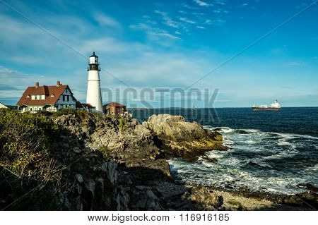 Famous Portland Head Light House