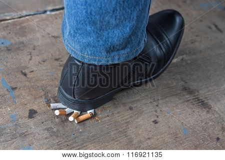 Man quit smoking