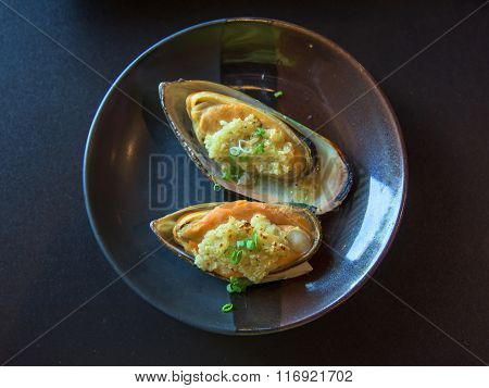 Stir Butter Garlic New Zealand Shellfish