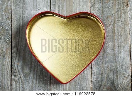 Heart Empty Box.