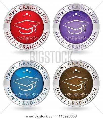 Happy Graduation icons