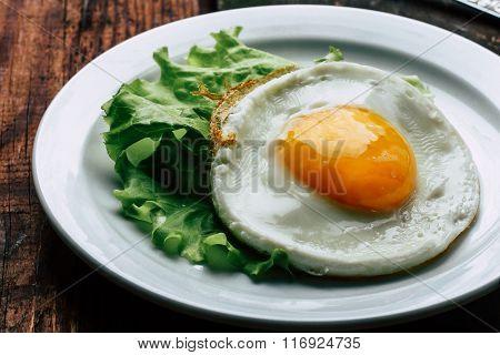 egg, eggs, breakfast, salad